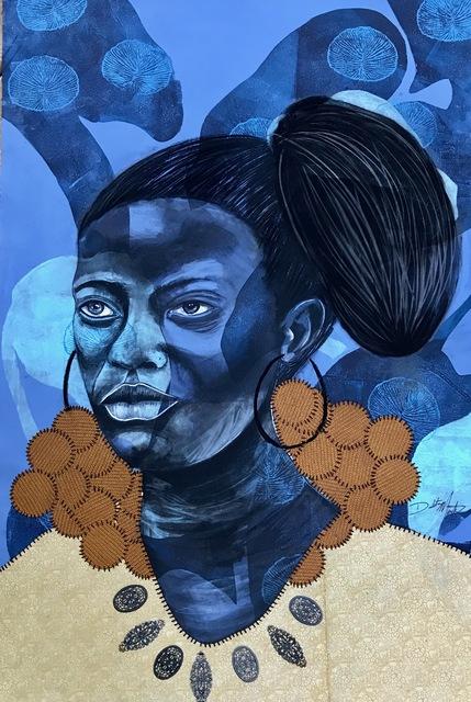 , 'Indigo Garden,' 2017, Nicole Longnecker Gallery