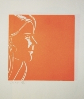 Alex Katz, 'Pink Kym', 1995, Soho Contemporary Art