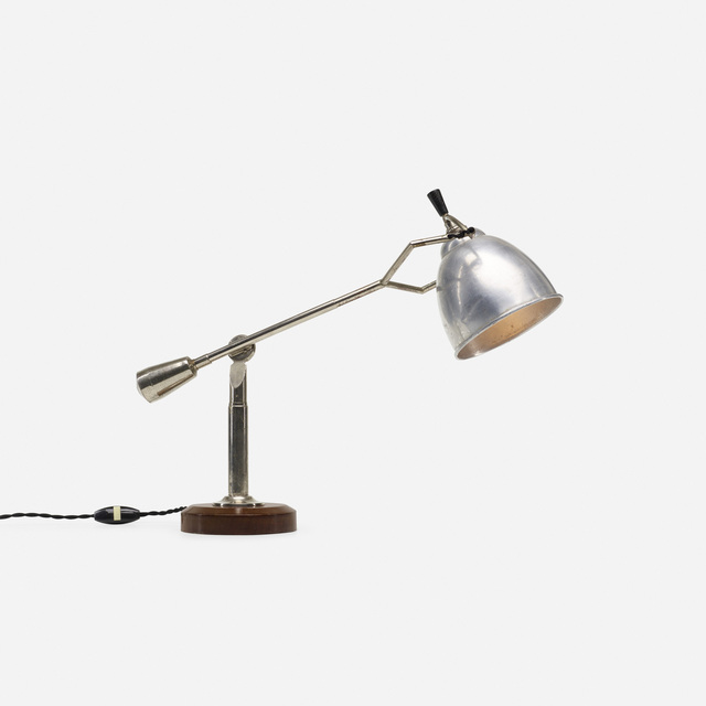 Edouard-Wilfred Buquet, 'table lamp', c. 1925, Rago/Wright