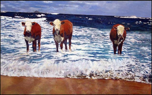 Marjorie Moskowitz, 'Bay Watch ', 2014, Bruce Lurie Gallery