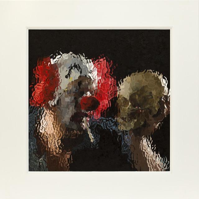 Marcus Harvey, 'Clown With Skull', 2012, Alex Daniels - Reflex Amsterdam