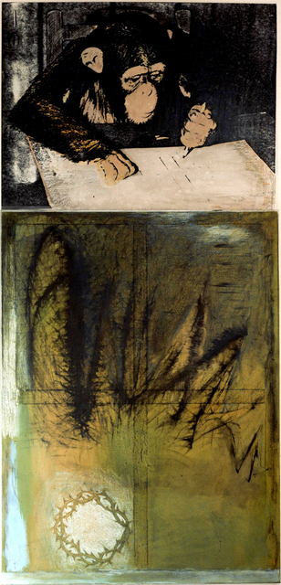 Marlene Dumas, 'The Three Crowns of Expressionism', 1982, JD Malat Gallery