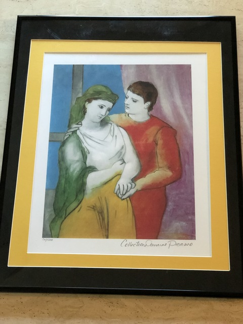 Pablo Picasso, 'The Lovers (Clothed)', Unknown, Leviton Fine Art