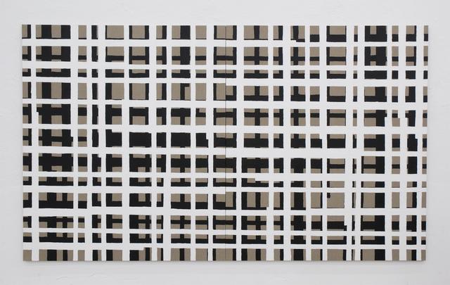 Cabrita, 'The grid #10', 2007, Painting, Acrylic on raw canvas, Galeria Filomena Soares