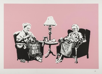 Banksy, 'Grannies,' 2006, Forum Auctions: Editions and Works on Paper (March 2017)