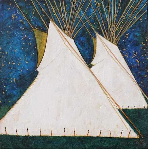 , 'Crow Indian TiPis,' , Sorrel Sky Gallery