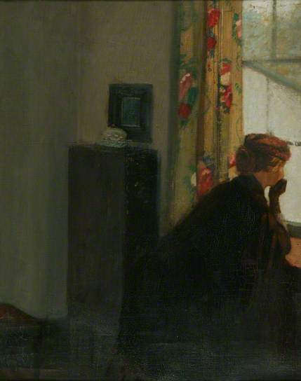 , 'At the Window,' ca. 1901, Ben Uri Gallery and Museum
