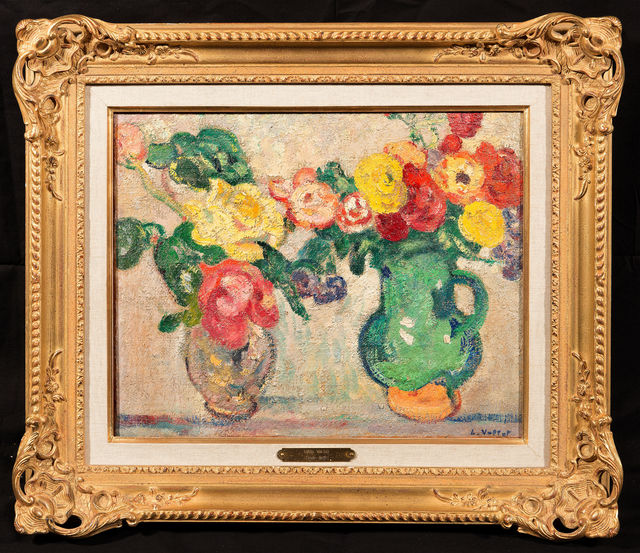 Louis Valtat, 'Les vases de fleurs', Trinity House Paintings