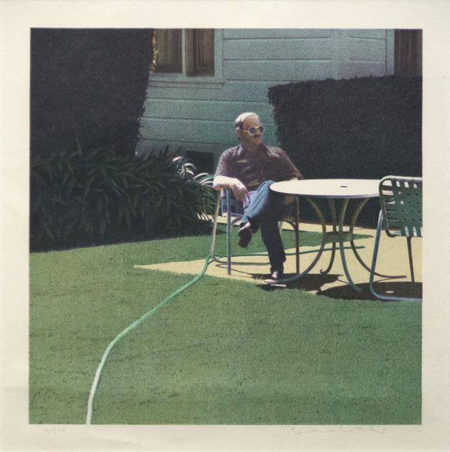 , 'Santa Barbara Patio, 12/10/1982,' 1982, Heather James Fine Art
