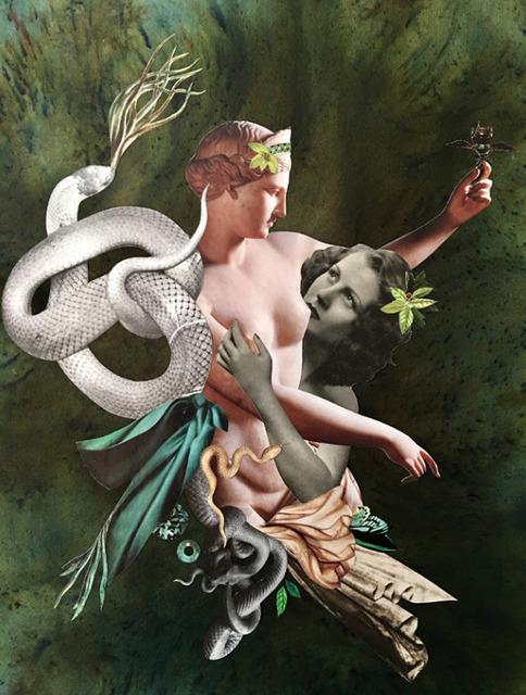 Deborah Kelly, 'Hard to Love', 2017, Photography, Collage, pure pigment, ink, dye on Garza handmade cotton paper,  Fabian & Claude Walter