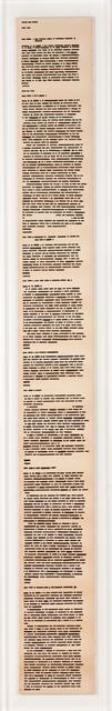 , 'TELEX G 22,' 1972, Studio Guastalla