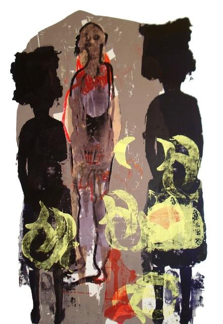 , 'i'm ready to carry myself along (ndagadzirira kuzvitakura pamwe),' 2015, Tiwani Contemporary
