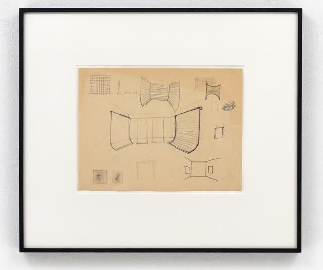 , 'Studie für Ausstellungsräume,' 1968, Sies + Höke