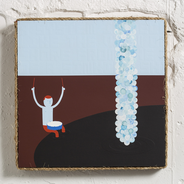 , 'Blue Dirges,' 2015, Jonathan LeVine Projects