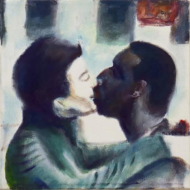 , 'The Kissing,' 2016, Rosenfeld Gallery