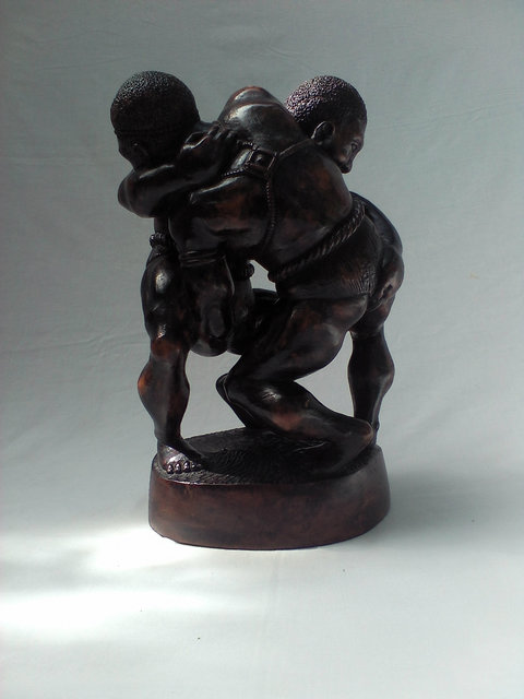 , 'Senegalese Wrestlers ,' , Zenith Gallery
