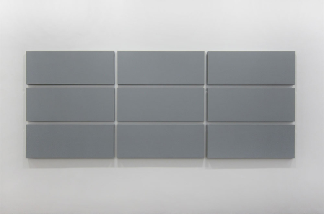 , 'Grid Painting 3 x 3 cm ,' 2011, Walter Storms Galerie
