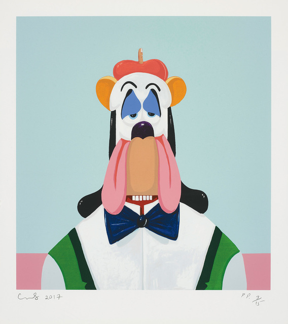 George Condo, 'Droopy Dog Abstraction', 2017, Phillips
