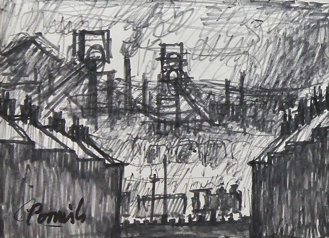 , 'Dean and Chapter Colliery from Ferryhill,' ca. 1964, Castlegate House Gallery