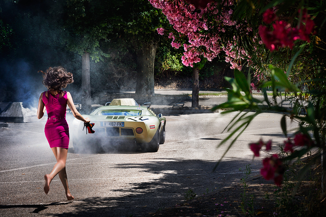 David Drebin, 'Wheels and Heels', 2013, CHROMA GALLERY