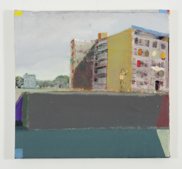 ", 'Untitled ""Waterside Buildings"",' 2008, Galleria Raucci / Santamaria"