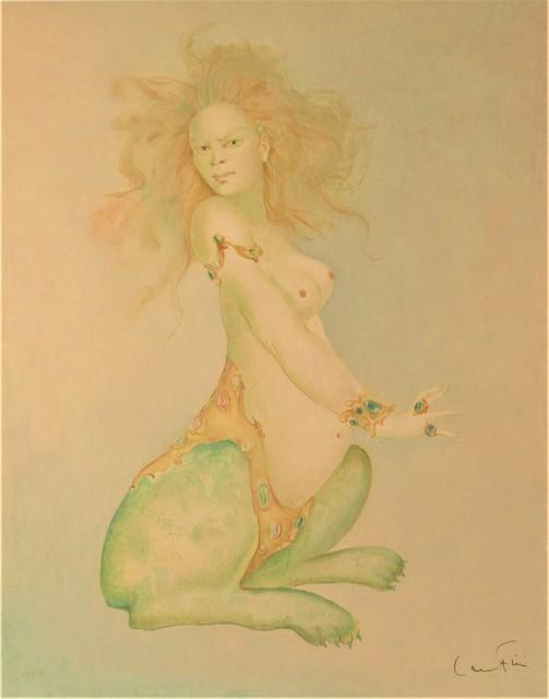 Leonor Fini, 'Sphinx', ca. 1975, Print, Color lithograph, Joseph Grossman Fine Art Gallery