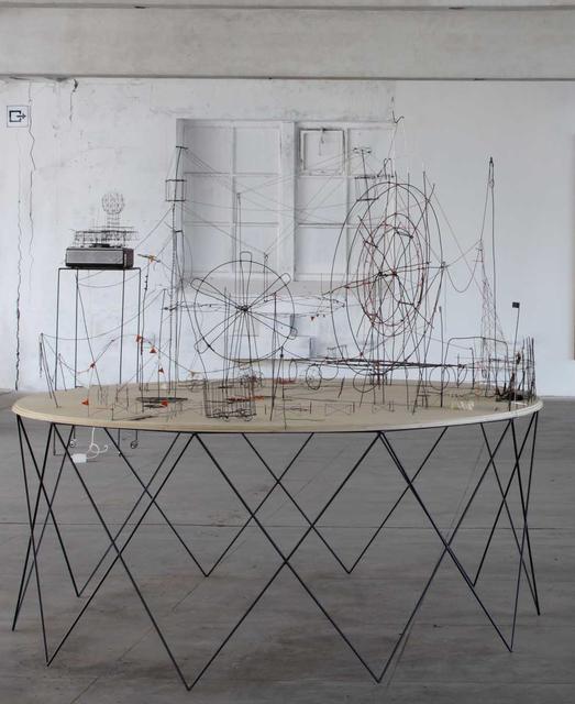 , 'Spieltisch,' 2011, Barbara Seiler