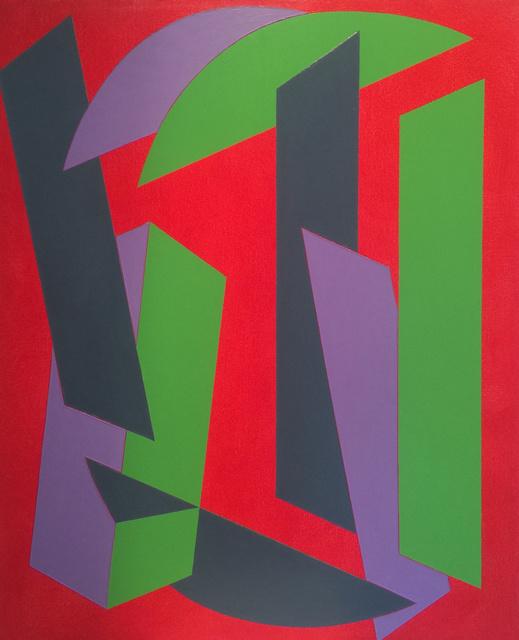 , 'Slide,' 2017, 532 Gallery Thomas Jaeckel