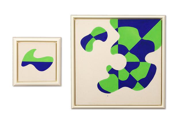 , 'Satellite Painting #12,' 1963, D. Wigmore Fine Art