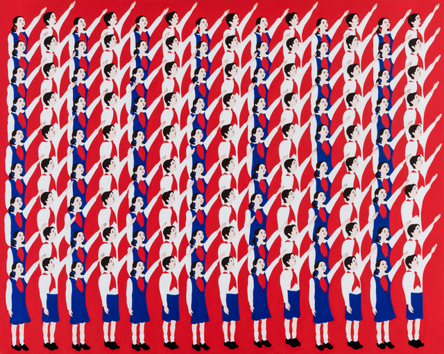 Mina Cheon, 'Happy North Korean Children 1', 2015, Ethan Cohen New York
