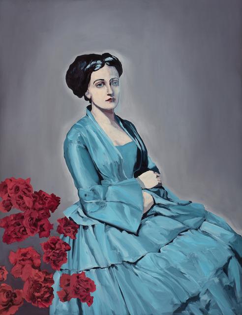 , 'Blue Veil,' 2013, Galerie EIGEN + ART