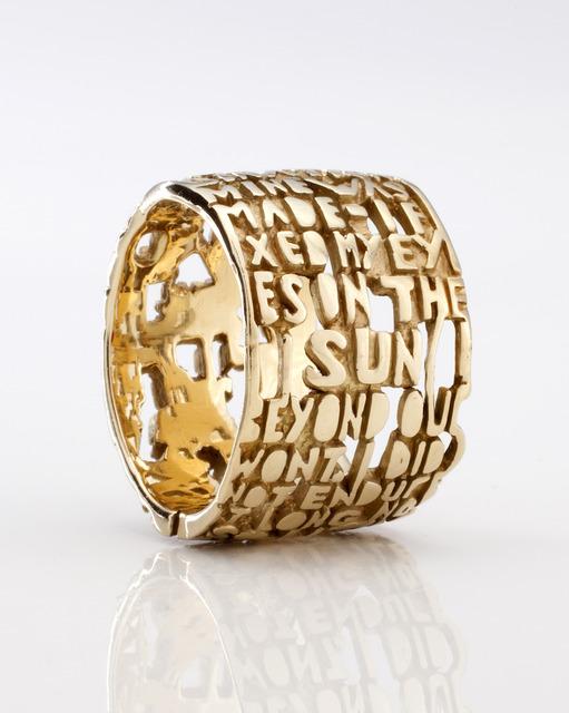 , 'Heaven-IV ring,' 2009, R & Company