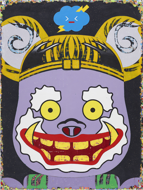 Lai Chiu-Chen, 'The Raijin Rolls the Thunders till His Face Turns Purple', 2014, Lin & Lin Gallery