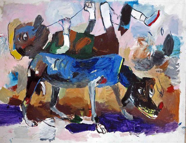 , 'Pinta sobre el animal,' 2017, Galerie Heike Strelow