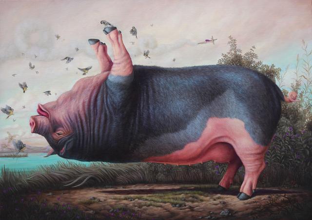 Bruno Pontiroli, 'Le cochon pendu', 2019, Fousion Gallery