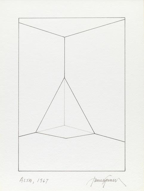 , 'Alta,' 1967, Galería OMR