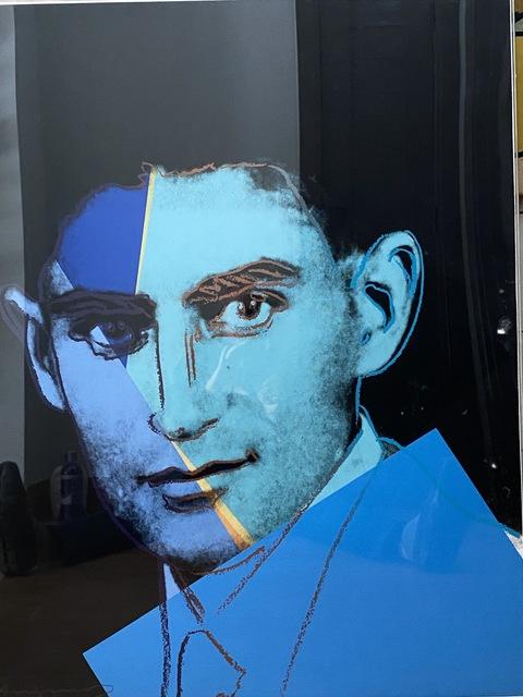 Andy Warhol, '   Franz Kafka, Ten Portraits of Jews of the Twentieth Century ', 1980, Print, Screenprint on Lenox Museum Board, Coskun Fine Art