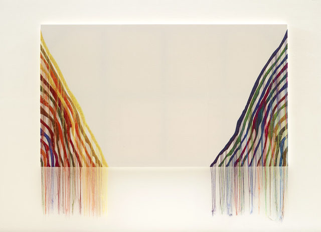 , 'Abstract Weave / Morris Louis Theta 1961,' 2014, Tina Kim Gallery