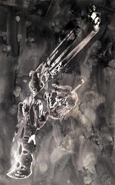 Robert Longo, 'Guns', 1994, Hamilton-Selway: Blue-Chip Editions
