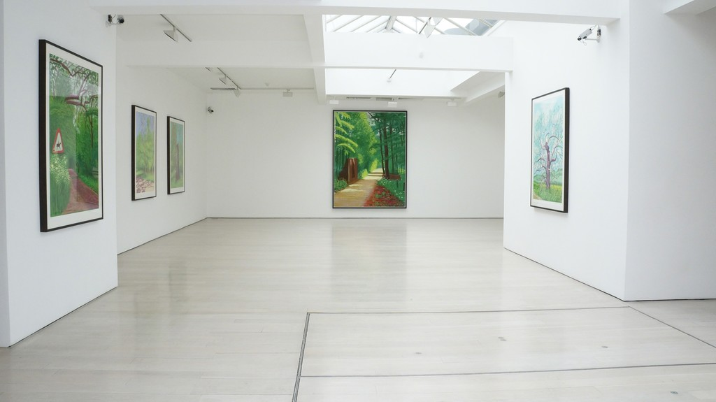 David Hockney: The Arrival of Spring, 2015. 4th floor