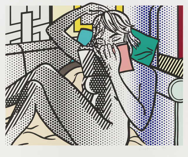 Roy Lichtenstein, 'Nude Reading', 1994, Nikola Rukaj Gallery