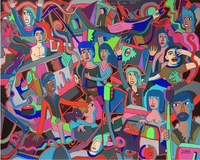 , 'Earthquake,' 2015, Galry