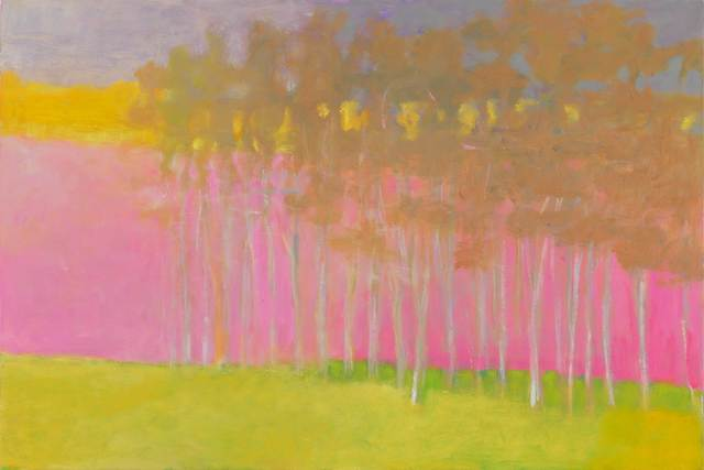 , 'Rosy Glow Under Trees,' 2006, Tayloe Piggott Gallery