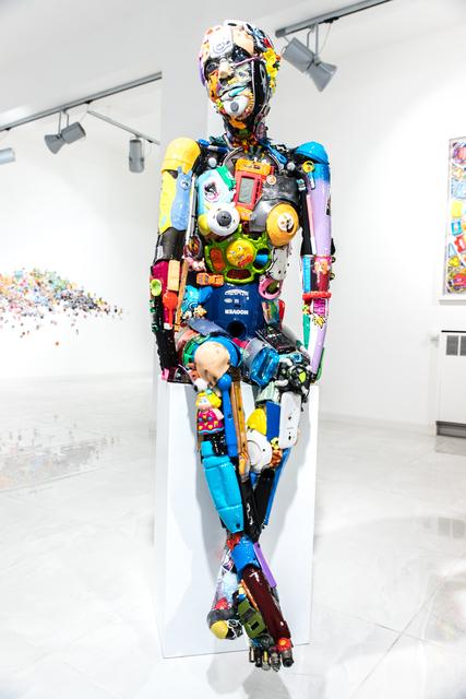 , 'Ragazzina seduta,' 2019, SimonBart Gallery