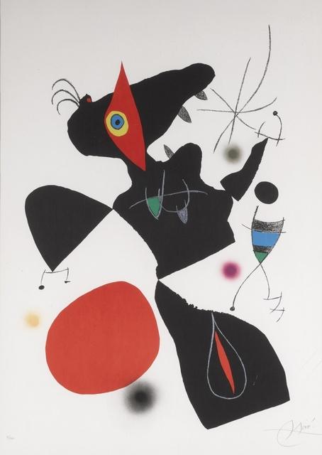 Joan Miró, 'Oda a Joan Miró: Plate IV (M. 906)', 1973, Sotheby's