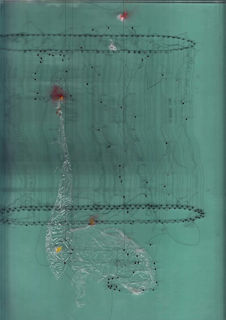 , 'Scan Project dari 'Tak Berakar Tak Berpucuk' # 14,' 2012-2016, Nadi Gallery