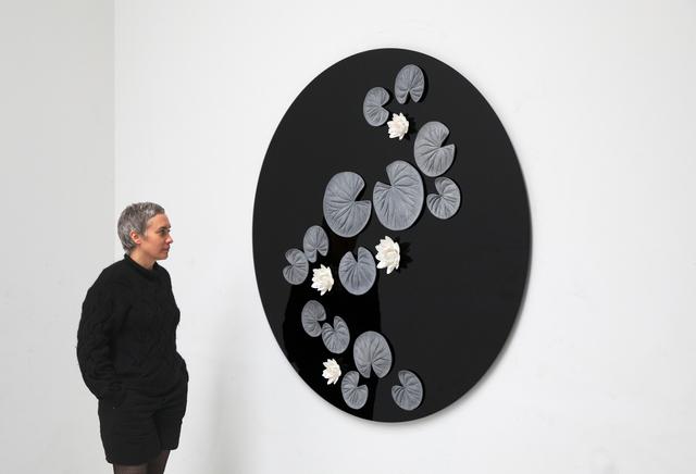 , 'Pond (wall piece) (1),' 2017, Galerie Krinzinger
