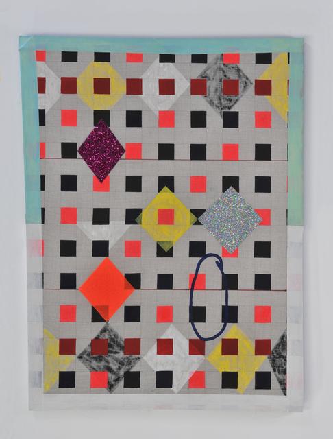 , 'Checkered Joey,' 2014, Luis De Jesus Los Angeles