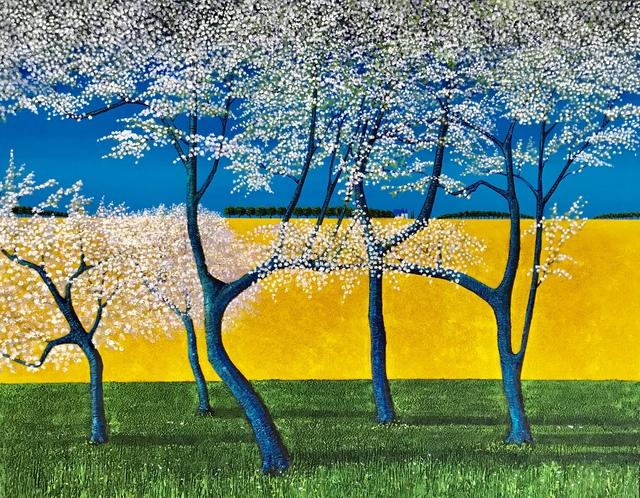 , 'Les Couleurs du Printemps (Colours of Spring),' 2018, Ode to Art
