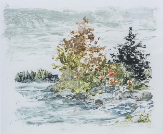 , 'Pond in the River,' 2007, Pucker Gallery